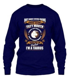 Im an Taurus, Men's Long Sleeves T-shirt