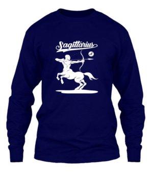 Sagittarius Tshirt, Men's Long Sleeves T-shirt