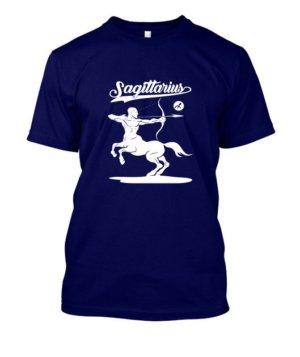 Sagittarius Tshirt, Men's Round T-shirt