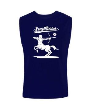 Sagittarius Tshirt, Men's Sleeveless T-shirt