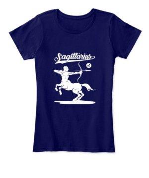 Sagittarius Tshirt, Women's Round Neck T-shirt