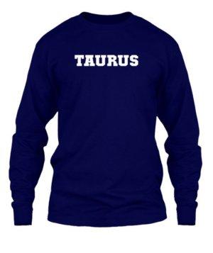 Taurus, Men's Long Sleeves T-shirt