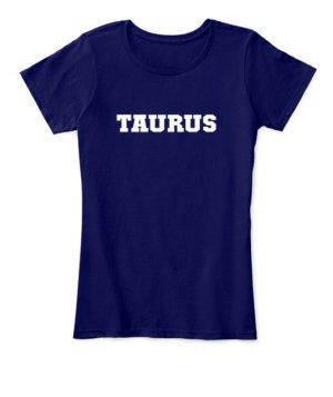 Taurus, Women's Round Neck T-shirt