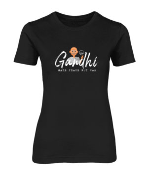 Gandhi Say's, Women's Round Neck T-shirt