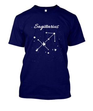 Constellation-Sagittarius Tshirt, Men's Round T-shirt