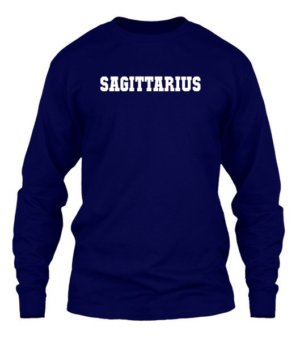 Sagittarius, Men's Long Sleeves T-shirt