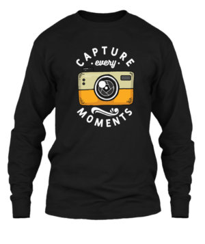 Capture Moments , Men's Long Sleeves T-shirt