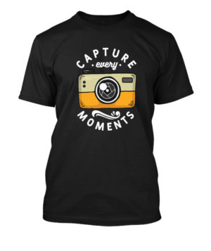 Capture Moments , Men's Round T-shirt