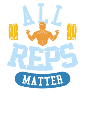 All reps matter, Men's Round T-shirt
