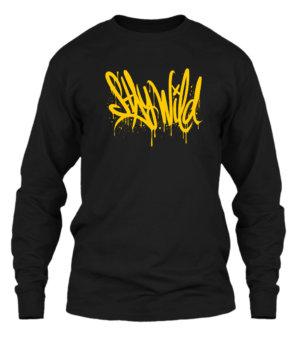Stay Wild, Men's Long Sleeves T-shirt