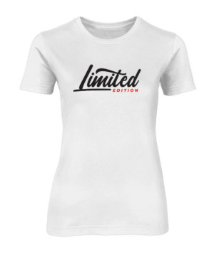 Limited Edition, Women's Round Neck T-shirt
