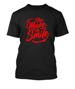 You make me smile, Men's Round T-shirt