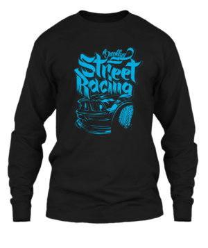 Street Racing, Men's Long Sleeves T-shirt