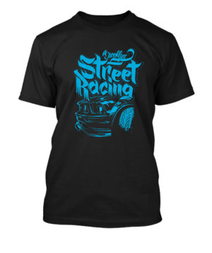 Street Racing, Men's Round T-shirt