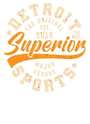 Superior Sports, Men's Round T-shirt