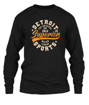 Superior Sports, Men's Long Sleeves T-shirt