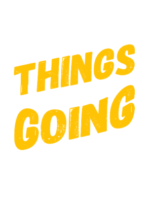 Good Things are going to happen, Men's Round T-shirt