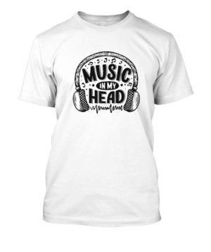 Music in my head, Men's Round T-shirt