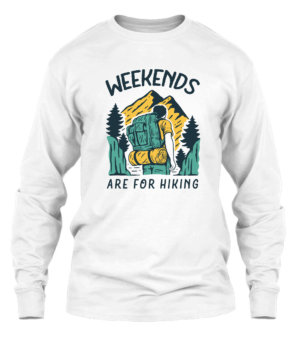 Weekends, Men's Long Sleeves T-shirt