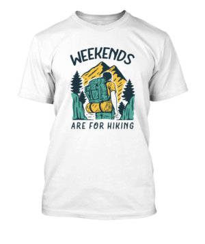 Weekends, Men's Round T-shirt