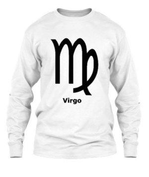Virgo Symbol, Men's Long Sleeves T-shirt