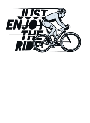 Just Enjoy the ride, Men's Long Sleeves T-shirt