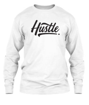 Hustle, Men's Long Sleeves T-shirt