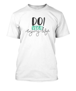 Do Yoga Enjoy Life, Men's Round T-shirt
