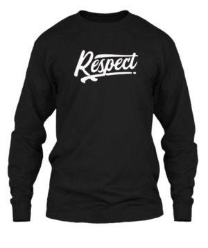 Respect, Men's Long Sleeves T-shirt