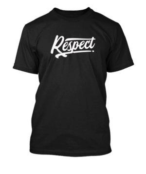 Respect, Men's Round T-shirt