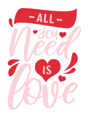 All you need is love, Women's Hoodies