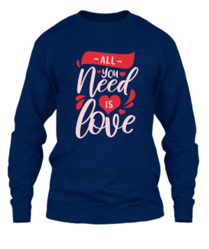 All you need is love, Men's Long Sleeves T-shirt