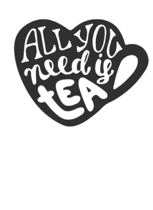 All you need is tea, Men's Round T-shirt