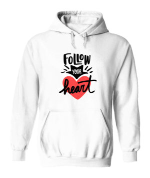 Follow your heart, Men's Hoodies