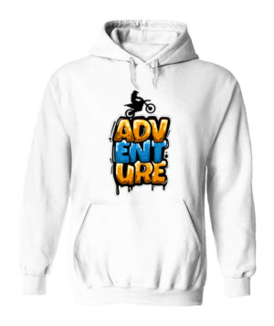 Bike Adventure, Men's Hoodies