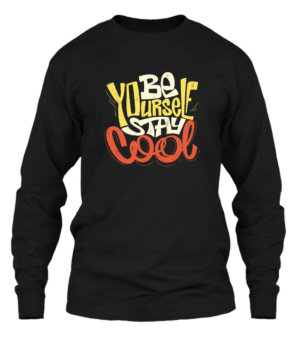 BE YOURSELF STAY COOL, Men's Long Sleeves T-shirt