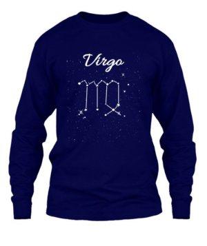 Constellation-Virgo Tshirt, Men's Long Sleeves T-shirt