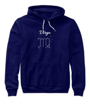 Constellation-Virgo Tshirt, Women's Hoodies
