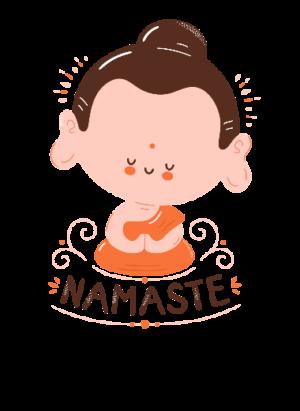 Namaste to everyone, Men's Long Sleeves T-shirt