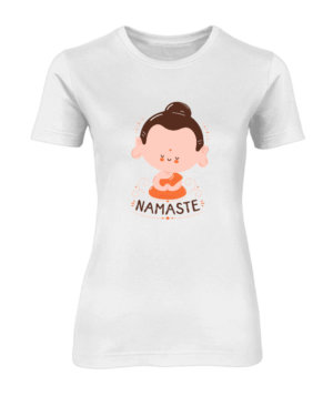 Namaste to everyone, Women's Round Neck T-shirt
