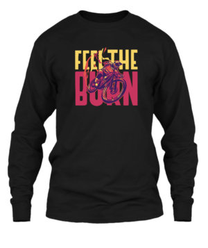 Feel the burn, Men's Long Sleeves T-shirt