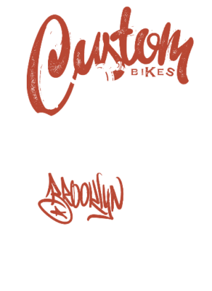 Custom Bike, Men's Round T-shirt