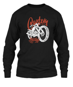 Custom Bike, Men's Long Sleeves T-shirt