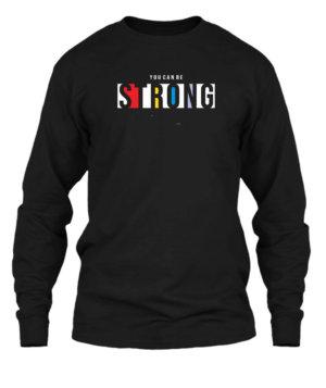 Strong, Men's Long Sleeves T-shirt