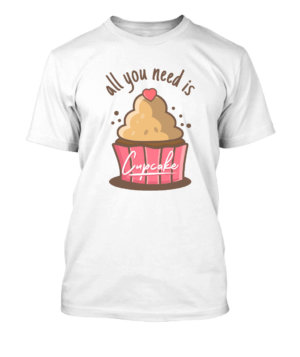 All you need is cupcake, Men's Round T-shirt