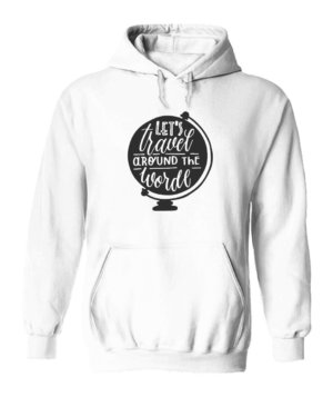 Lets travel the world, Men's Hoodies