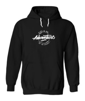 Life is an adventure, Men's Hoodies