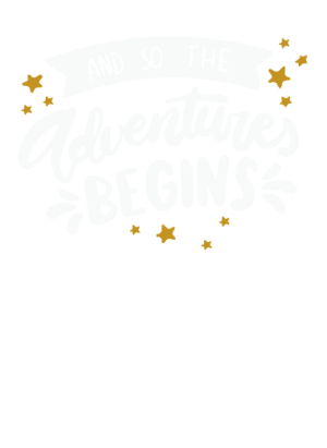 Adventure Begins, Women's Round Neck T-shirt