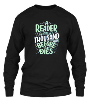 Reader Quotes, Men's Long Sleeves T-shirt
