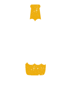 Good People Drink Good Bear, Men's Round T-shirt